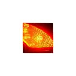 lampara led s25-15s/ 1156, 54 leds 1210, amarilla