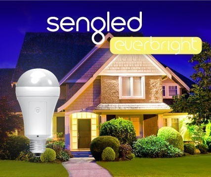 lampara led sengled everbright bateria 9w 500 luz emergencia