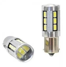 lámpara led set x2 blanca 24 v.