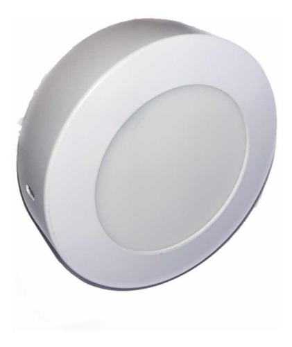 lampara led sobreponer 6w luz blanca redonda
