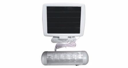 lampara led solar