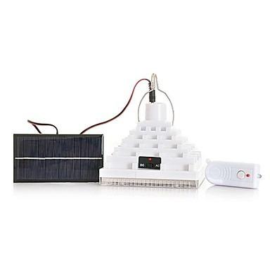 lampara led solar con control remoto