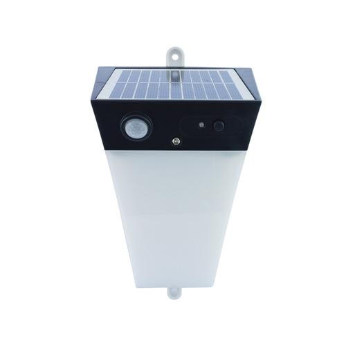 lampara led solar recargable encendido automatico exterior
