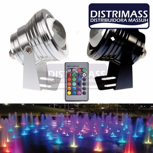 lampara led sumergible para piscinas o acuarios importador