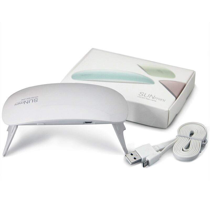 Lampara Led Sun Mini Usb Uñas Gelish 6 W - $ 175.00 en Mercado Libre