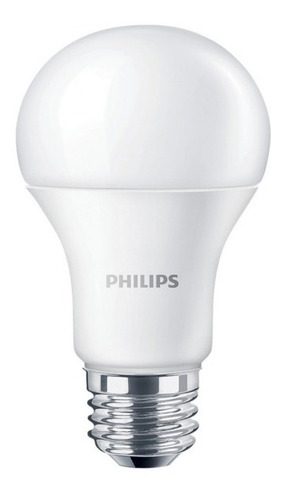 lámpara led tipo bulbo 6w e27 fría - philips l27032
