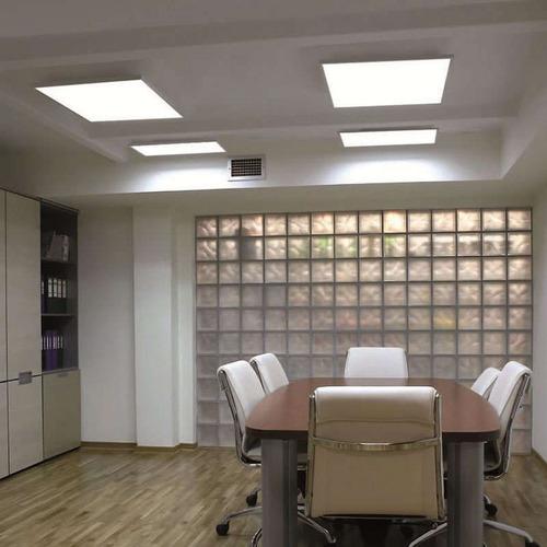 lampara led tipo panel 24w sobrepuesta ideal losa-cemento