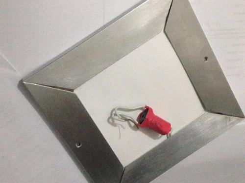 lampara led ultrafina 20cm 8 vatios