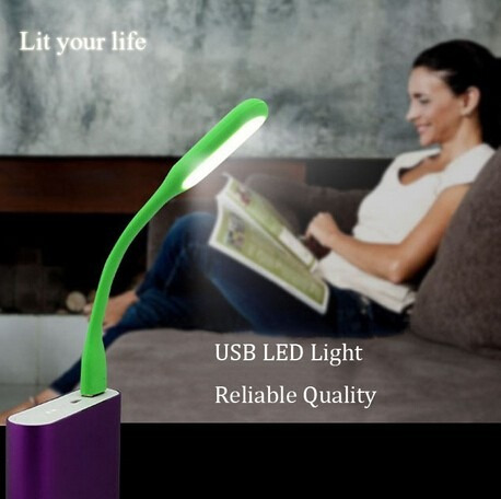 lampara led usb laptop /pc /cargador