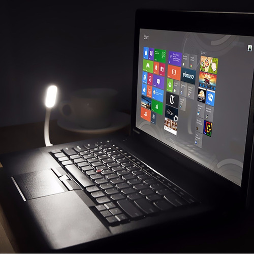 lampara led usb pc laptop linterna portatil flexible colores