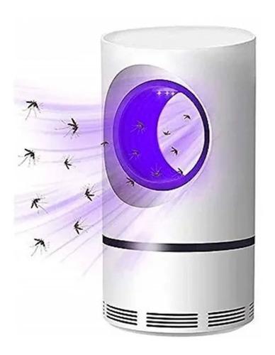 lámpara led uv mata mosquitos moscas insectos silencioso usb