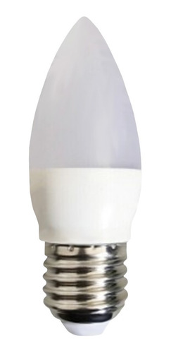 lampara led vela candil 8w = 60w 806lm e27