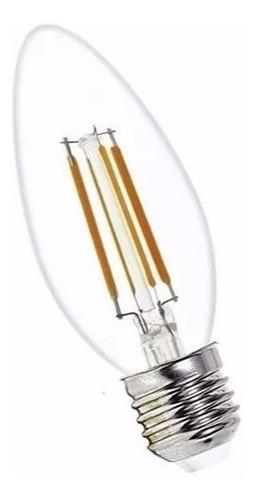 lampara led vela filamento foco vintage 4w = 40w dimerizable