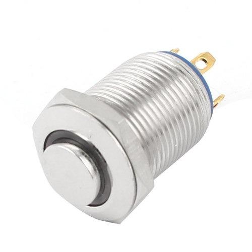 Spst Lámpara Co Led Verde De Pulsador Meta 12mm Interruptor mN8wOvn0