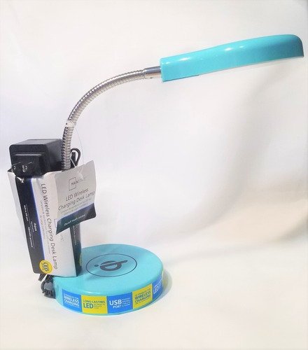 lampara led wireless charging desk lamp