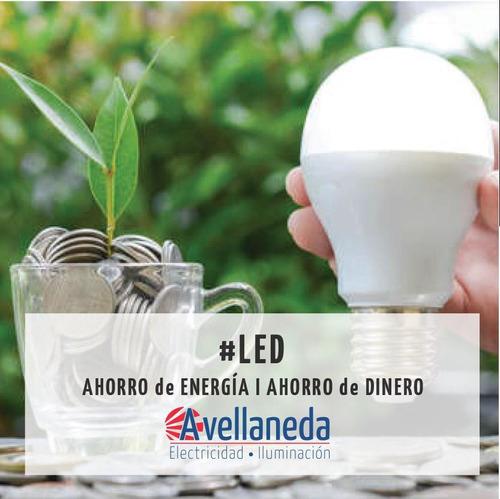 lampara led x10 classic 12w = 90w luz fría - glowlux - e. a.
