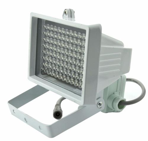 lampara leds infraroja aweek 96 leds ir iluminator 45 grados