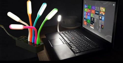 lámpara / linterna usb led portátil 1.2w de potencia ( g+i)