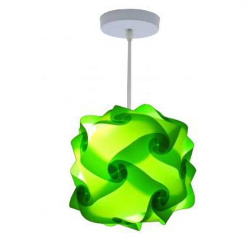 lámpara lumbra cuba de techo l-verde