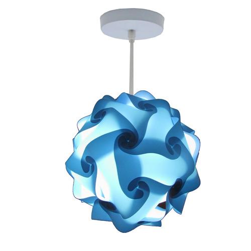 lámpara lumbra de techo ocaso extra grande -azul