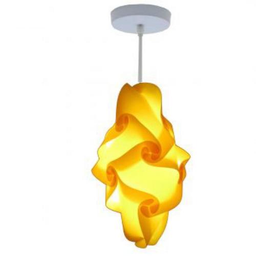 lámpara lumbra kole de techo l-amarillo