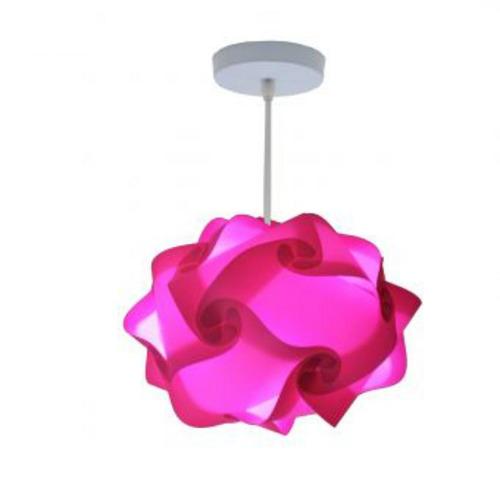 lámpara lumbra luze de techo l-rosado
