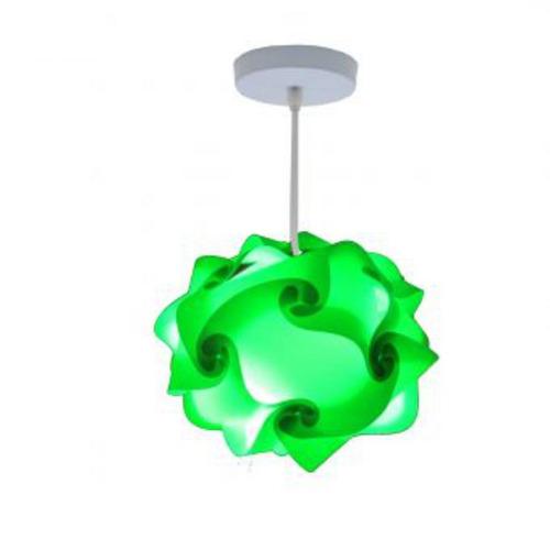lámpara lumbra luze de techo l-verde