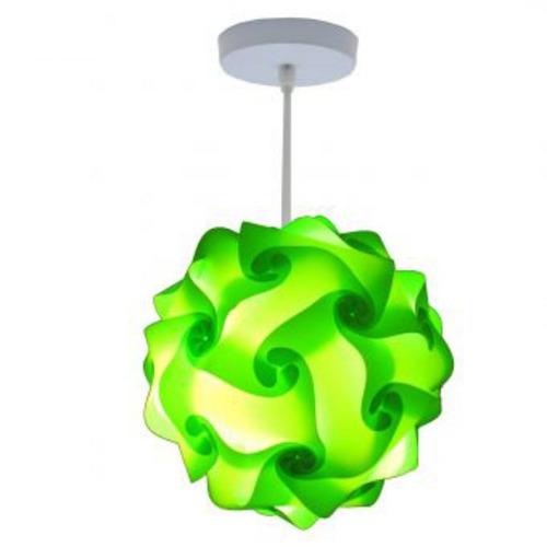 lámpara lumbra ocaso de techo l-verde