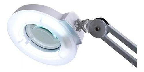 lámpara lupa 3 dioptrias 22w ruedas pedestal  + envío gratis