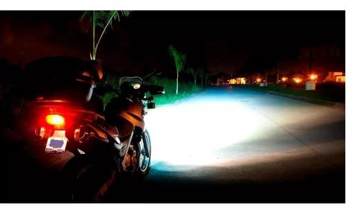 lampara luz h4 led cree motos twister fz tornado - sti motos