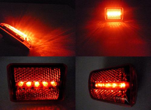 lámpara luz led trasera bicicleta seguridad accesorios