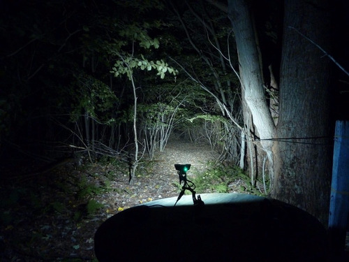 lampara luz linterna bicicleta 3 led cree 12000lm recargable