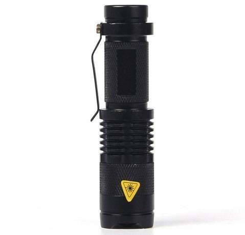 lampara luz negra c zoom led uv recargable detecta alacranes