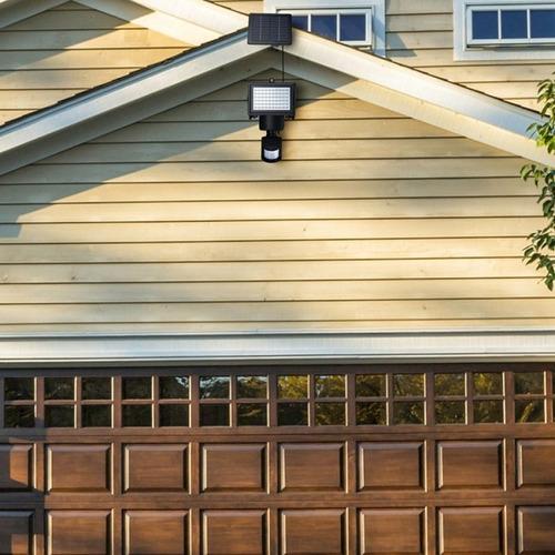 lampara luz solar con sensor de movimiento 60 led, envio cr