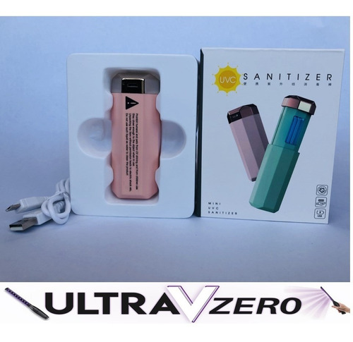 lampara luz ultravioleta uvc desinfeccion virus portable
