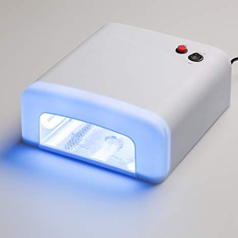 lampara luz uv secadora de uñas en gel manicure