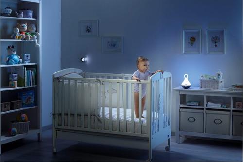 lampara magica luz de noche chicco 5 luces melodias balanceo