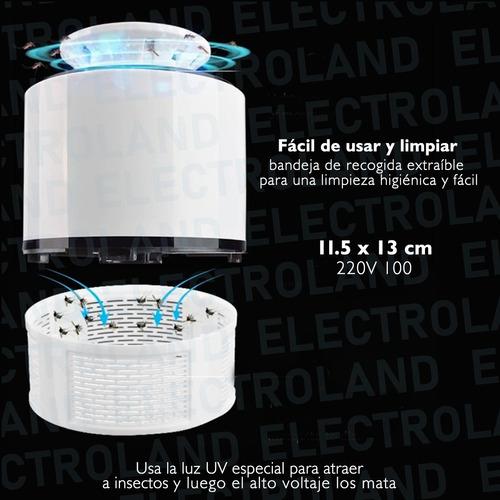 lampara mata insectos mosquitos led uv usb 220v killing lamp