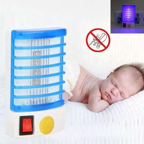 lampara mata moscas y mosquitos electrico