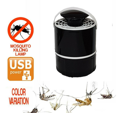 lámpara mata mosquitos usb killing lampara de succion uv