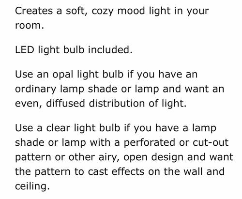 lámpara mesa lámpara