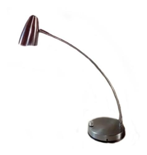 lámpara mesa velador escritorio led metal