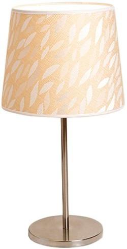 lampara mesa velador pantalla tela diseño natural artelamp