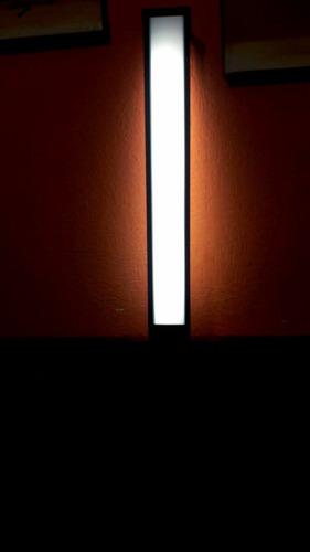 lámpara miniposte tecnolite h140n negra 14w t5