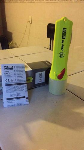 lámpara msa rescate para gallet f1 y f2 xtrem