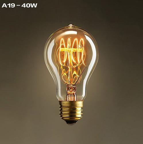 lámpara multifilamento grande luz decoracion decorativa  40w