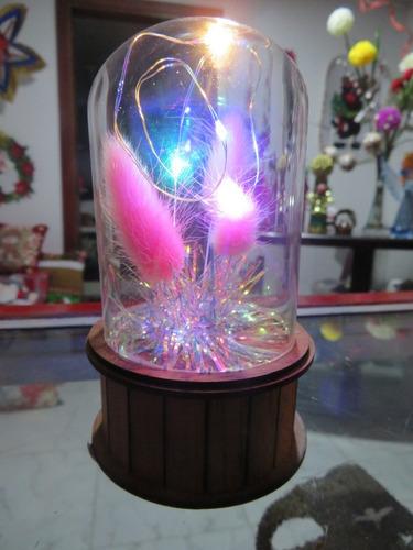 lampara navideña
