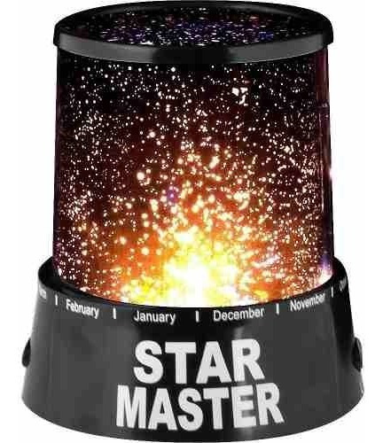 lampara niños veladora infantil proyector led de estrellas
