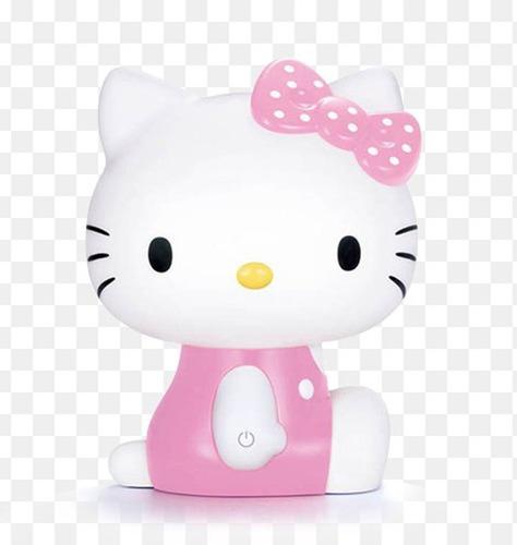 lampara noche luz led sensor de toque usb hello kitty