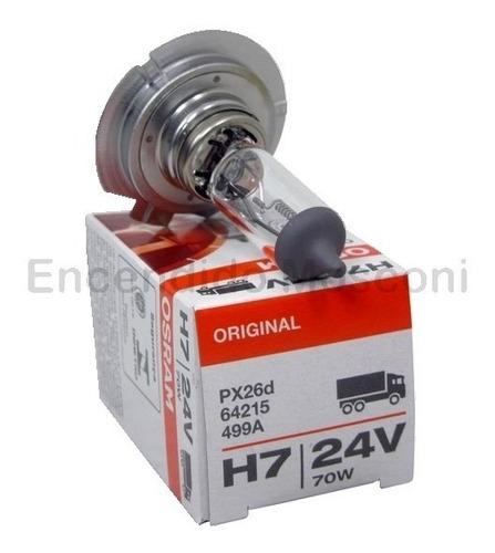 lampara osram halogena h7 24v 70w